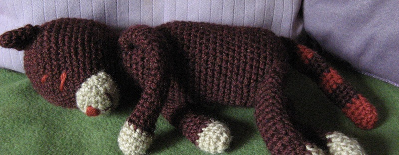 """Amineko"", ""crochet cat"""