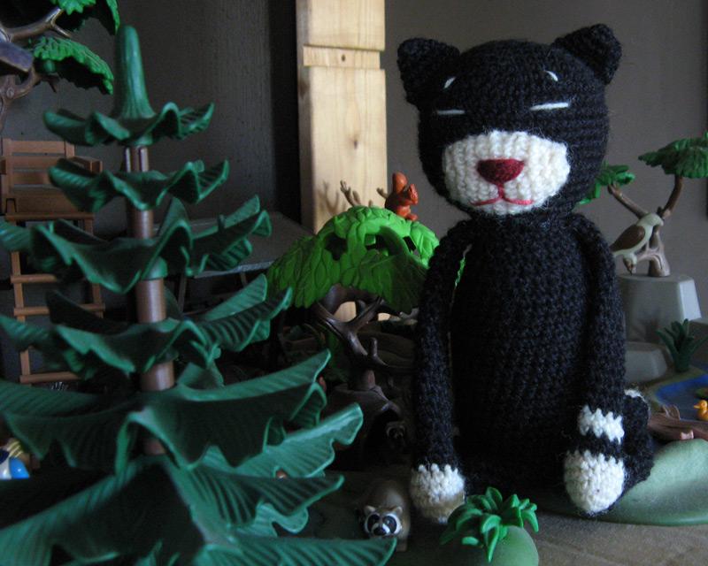 """amineko crochet cat"""