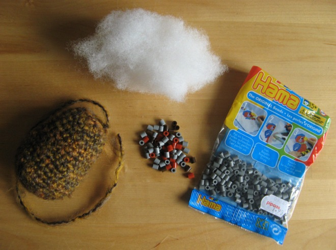 """hama beads as pellets"