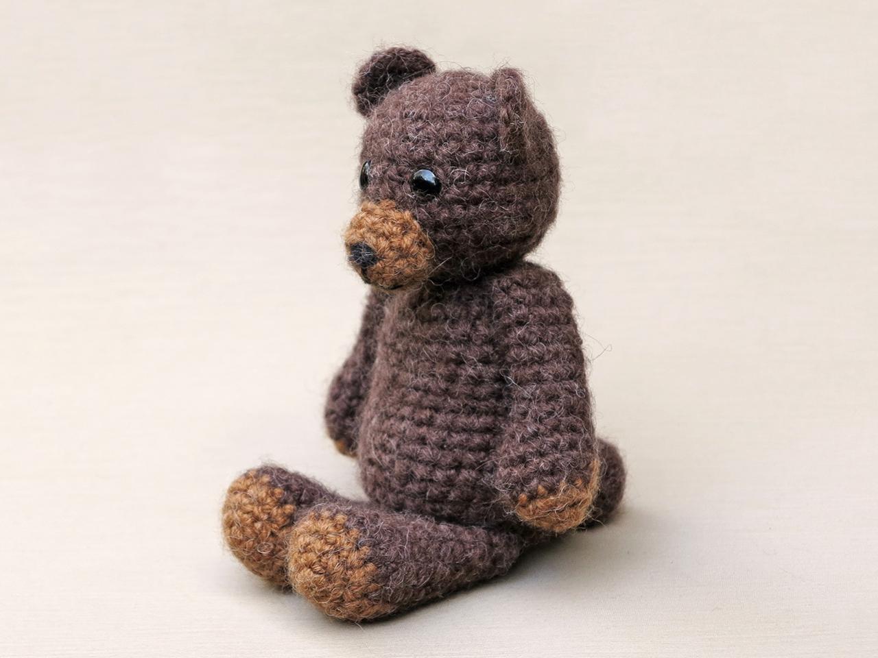 Teddy Crochet Bear Pattern Sons Popkes