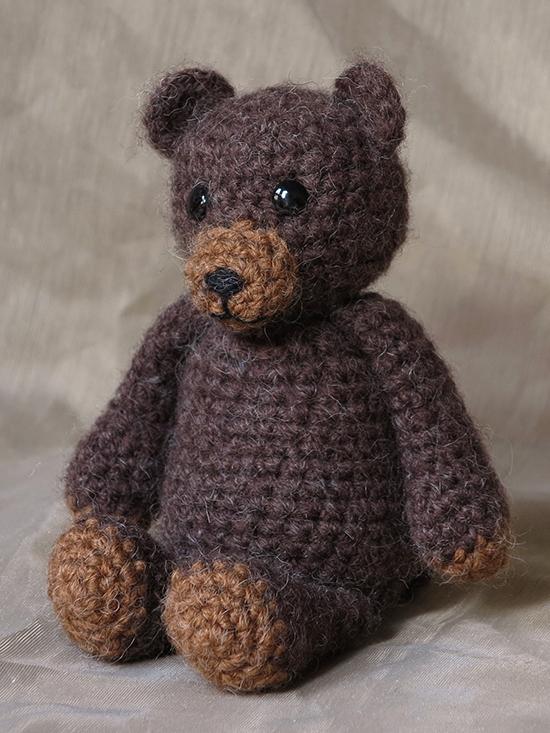 How To Crochet Amigurumi Teddy Bear : Crochet bear pattern Sons Popkes