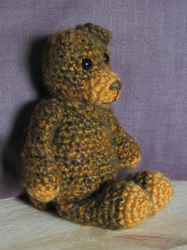 Crochet bear pattern Sons Popkes
