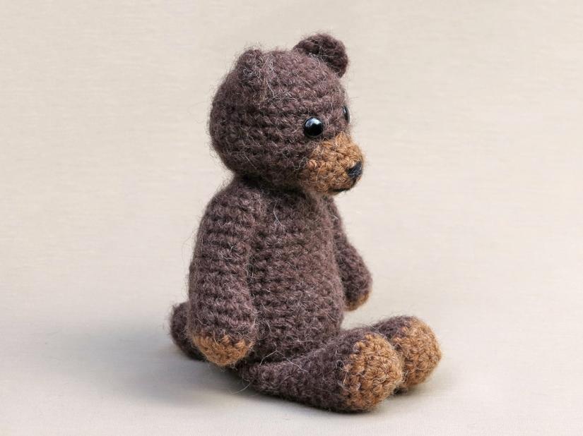 amigurumi bear, crochet teddy bear