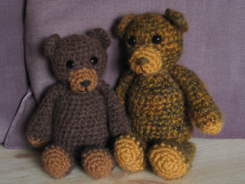 Crochet bear pattern Sons Popkes