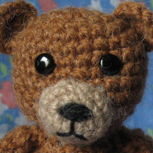 Crochet Bear face Sons Popkes