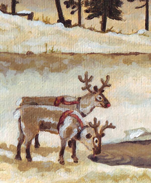 """""""reindeer rendieren red nose"""""""