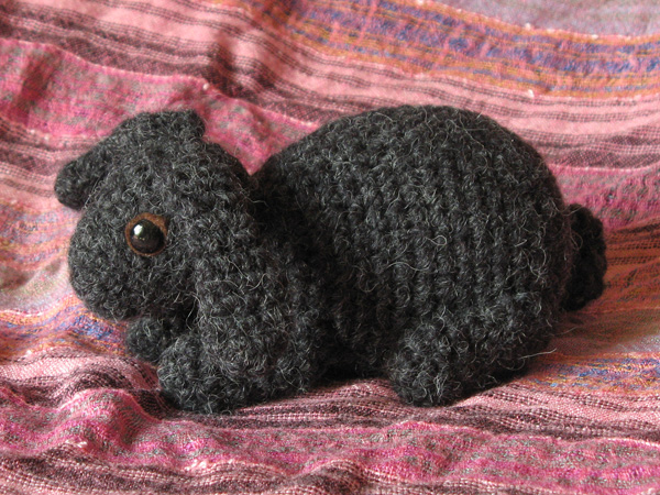 Free Crochet Pattern For A Rabbit : crochet bunny pattern Sons Popkes