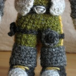 """crochet action figure"""