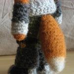 """""""crochet fox tail"""" """"gehaakte vossenstaart"""""""