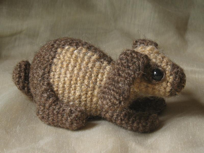 """""""gehaakte hangoor, gehaakt hangoorkonijn, crochet lop rabbit"""""""