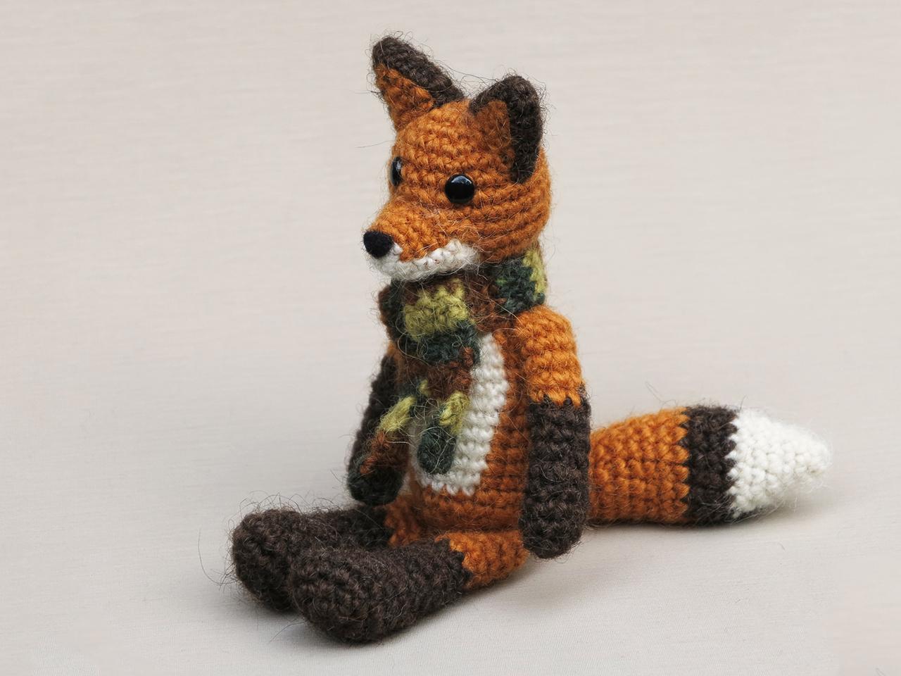 Fox Amigurumi, Mr. Furu - Free Crochet Pattern | Craft Passion | 960x1280