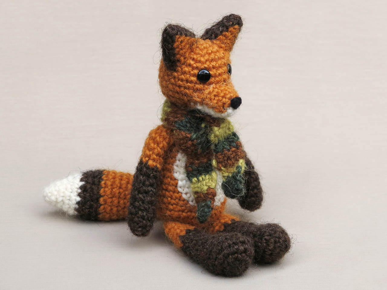 Sleeping fox amigurumi pattern - Amigurumi Today | 960x1280