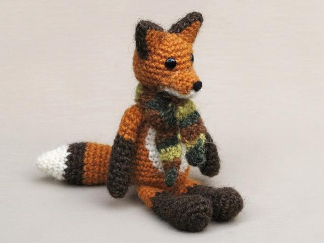 Flam, crochet fox