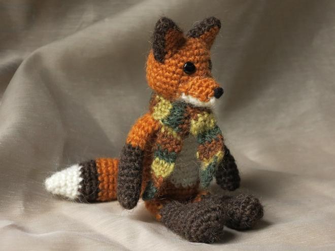 gehaakte vos, crochet fox amigurumi