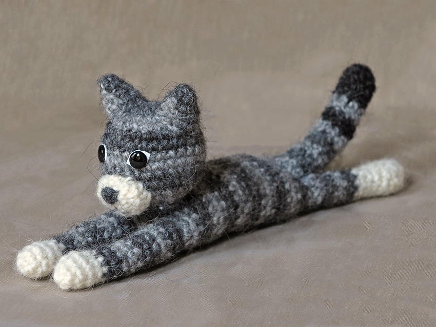 Crocheting For Cats : amigurumi cat, crochet cat