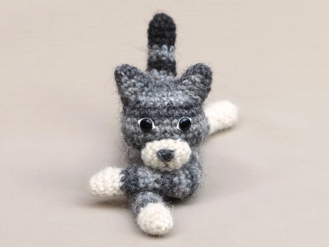 amigurumi cat, crochet cat