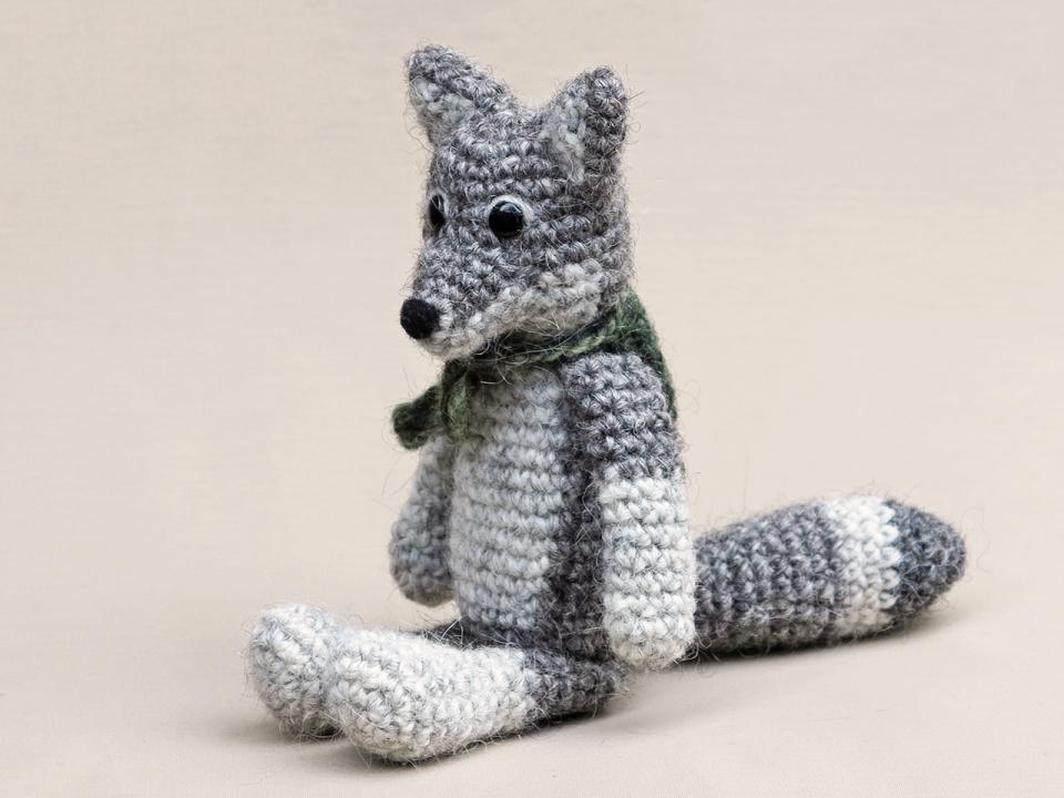 crochet wolf pattern