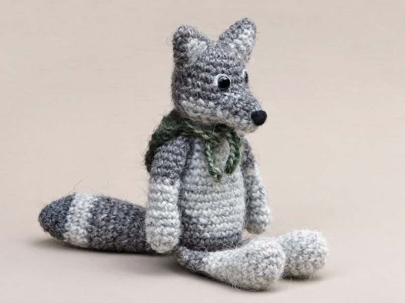 crochet wolf pattern, wolf amigurumi, haakpatroon wolf