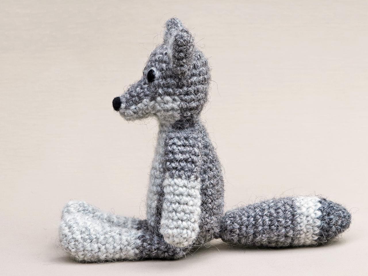 Gabriel the Grey Wolf Crochet pattern by Adriana Aguirre ... | 960x1280
