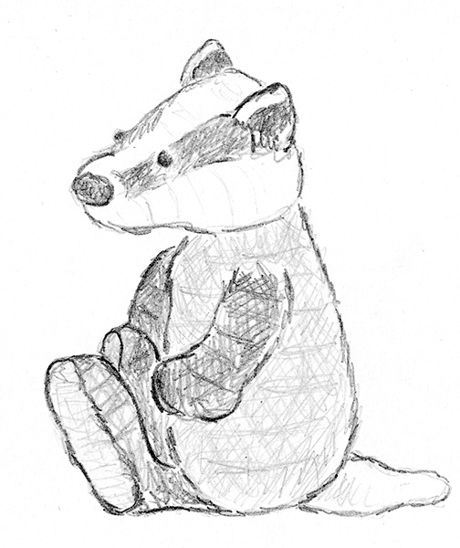 Bucky The Badger Free Coloring Pages