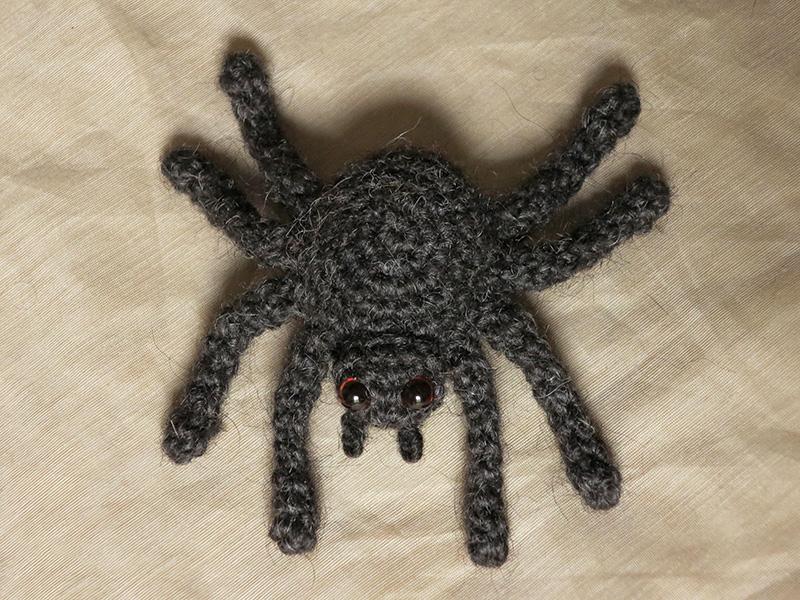 Amigurumi Spider Pattern : spider amigurumi Sons Popkes