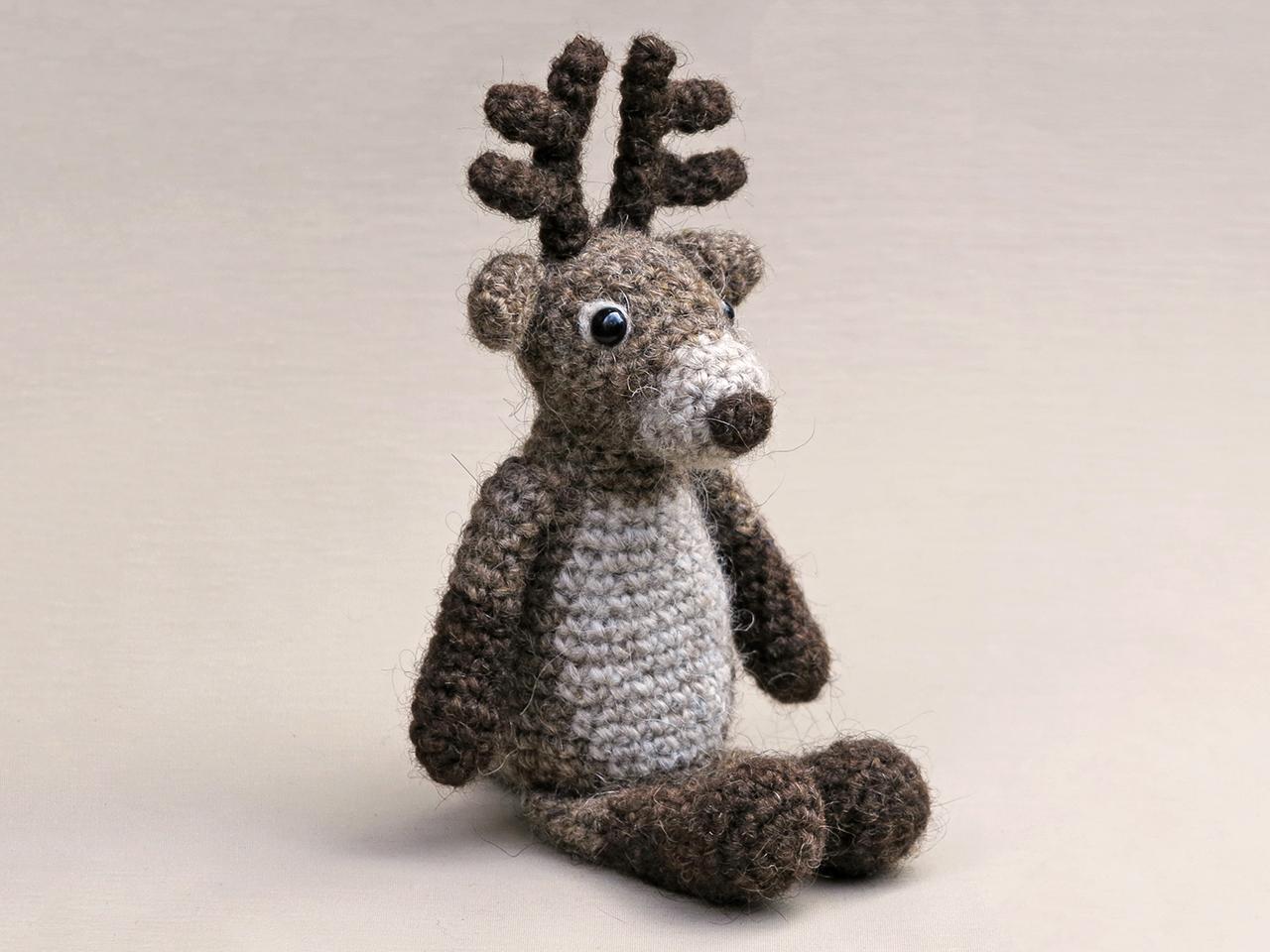 Rupert, crochet reindeer pattern | Son\'s Popkes