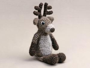 Reindeer amigurumi rudolph