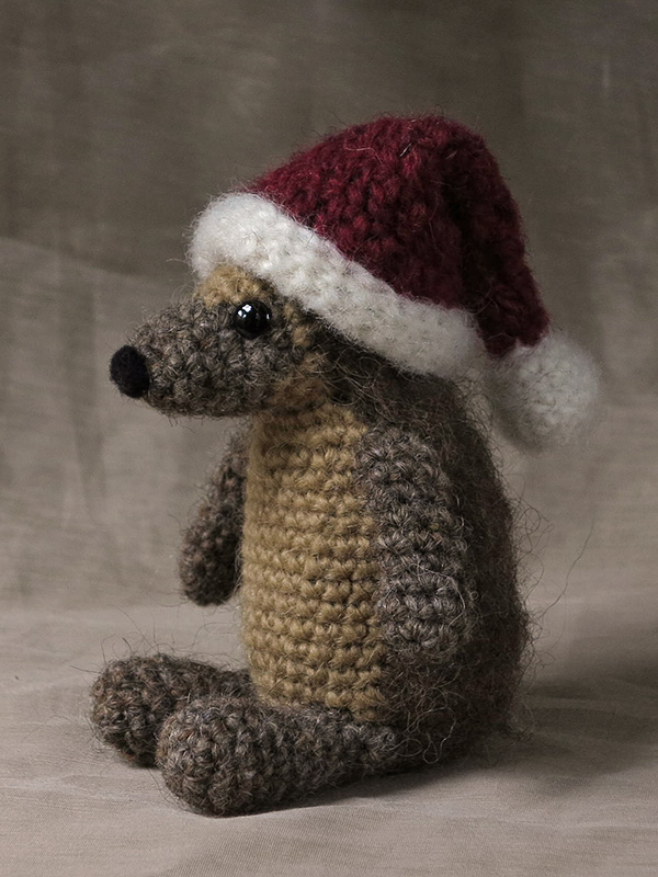 19 Free Amigurumi Christmas Santa Crochet Patterns | Christmas ... | 800x600