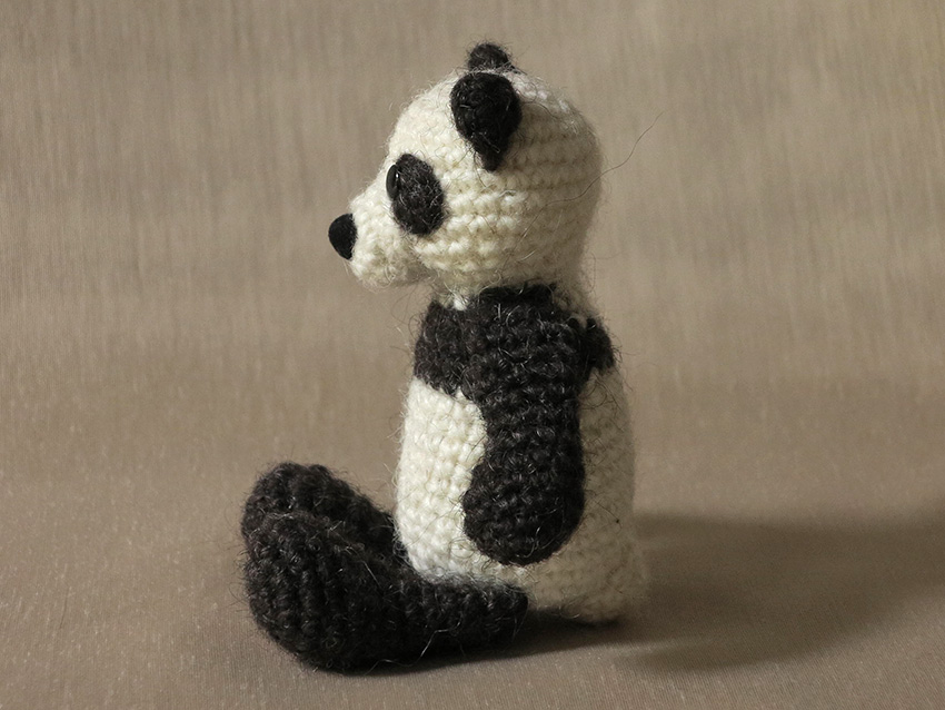 Amigurumi Panda Bear Crochet Pattern : Panda amigurumi son s popkes