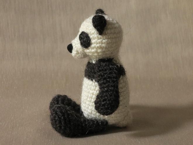 haakpatroon panda, panda aimigurumi