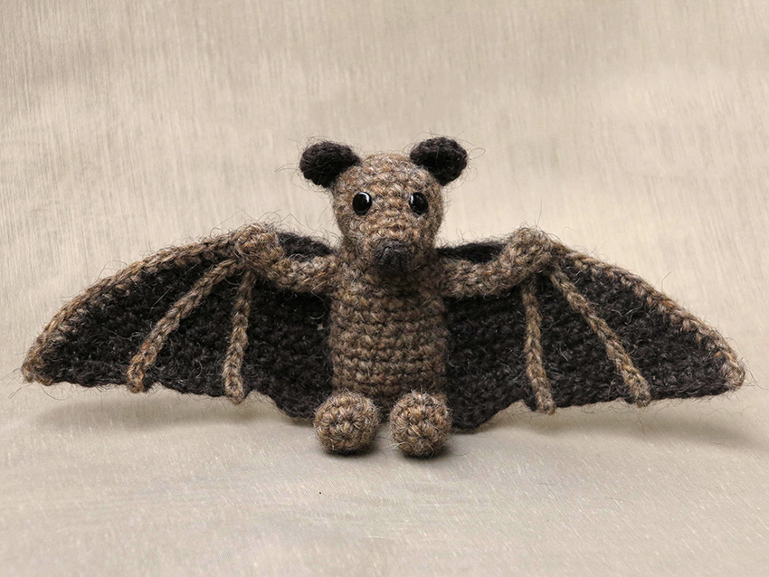 Crocheting Animals : crochet animal, animals, haakpatroon vleermuis