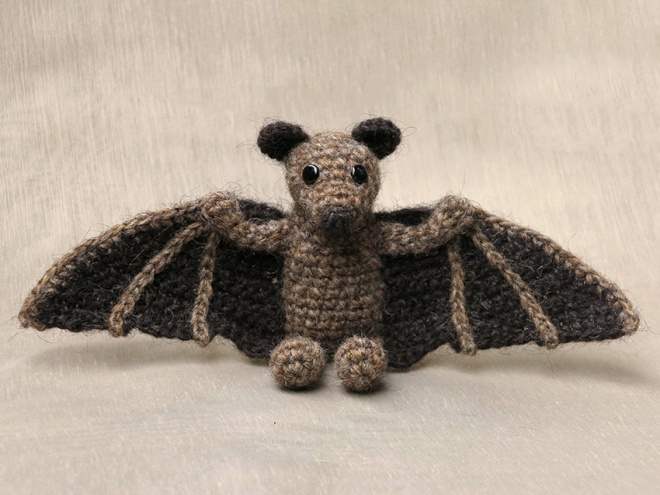 crochet animal, animals, haakpatroon vleermuis