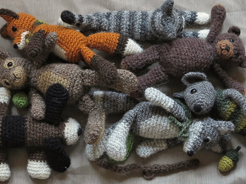Free Crochet Patterns For Animals : crochet animals Sons Popkes