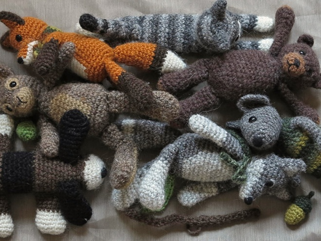 Crochet Animal Patterns Sons Popkes Page 8