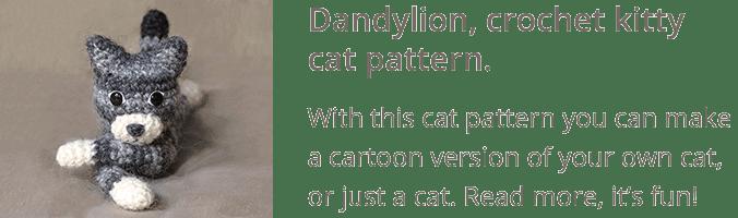 Crochet cat pattern