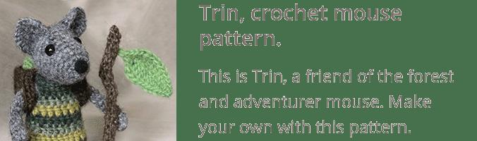 Crochet mouse pattern