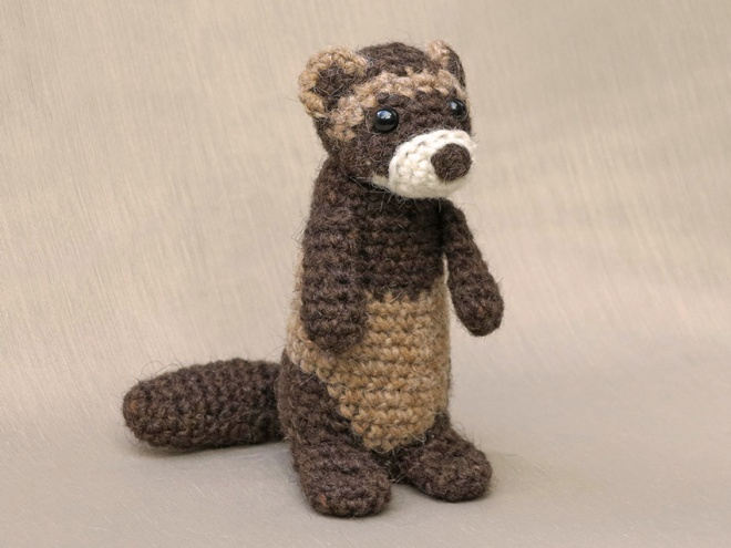 amigurumi ferret crochet pattern