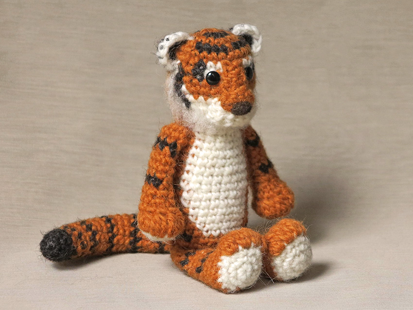 Free Tiger Crochet Pattern Animal - Hot Girls Wallpaper