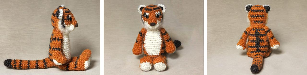 Romeo the Tiger amigurumi pattern - Amigurumi Today | 312x1280