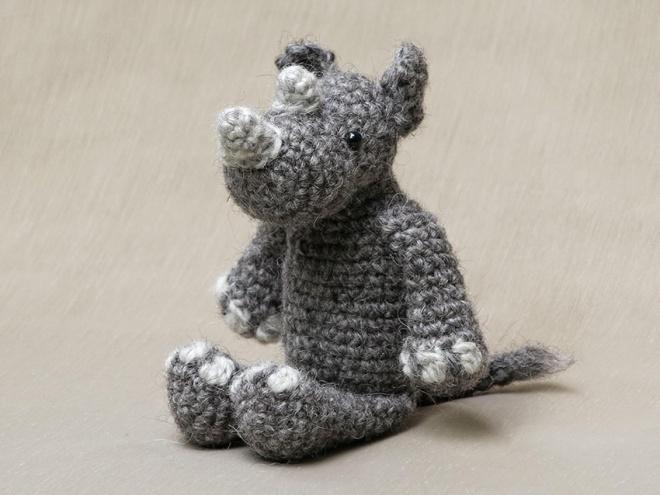 rhino crochet pattern