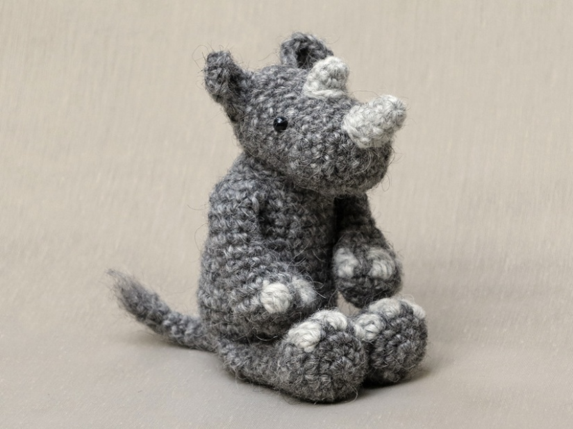 crochet rhino pattern