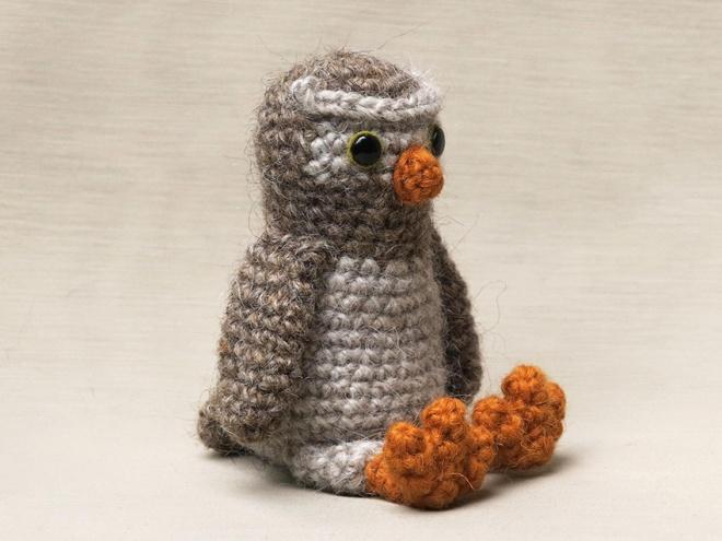 realistic crochet owl pattern