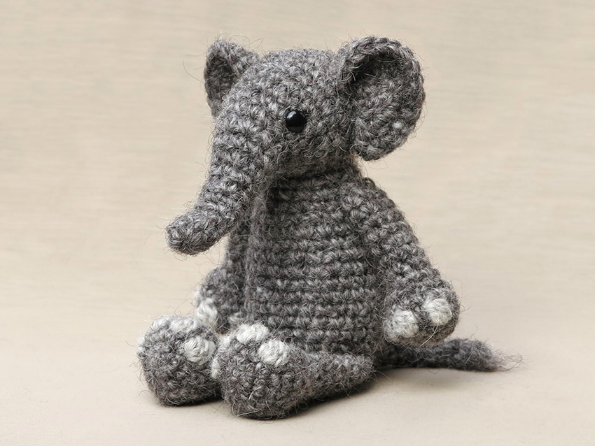 Esther the Elephant | Recipe | Crochet elephant pattern, Crochet ... | 638x850