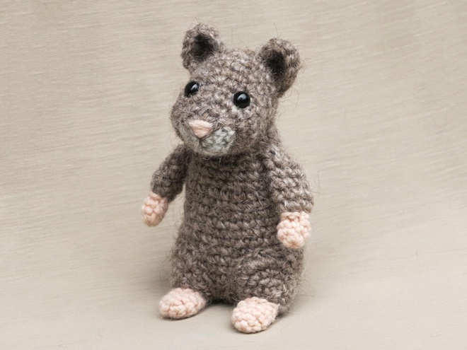 hamster amigurumi crochet pattern