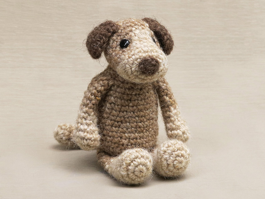 Crochet Dog Pattern Sons Popkes