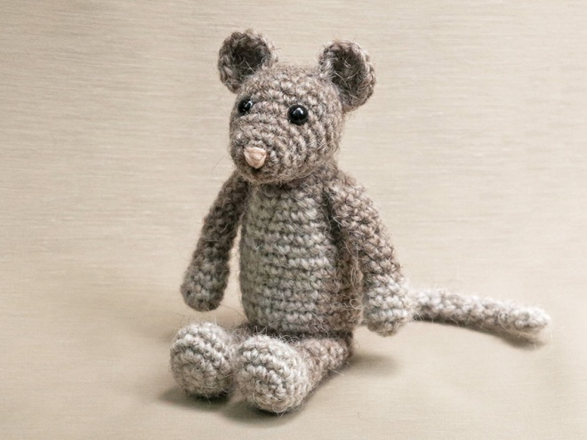 House mouse crochet pattern