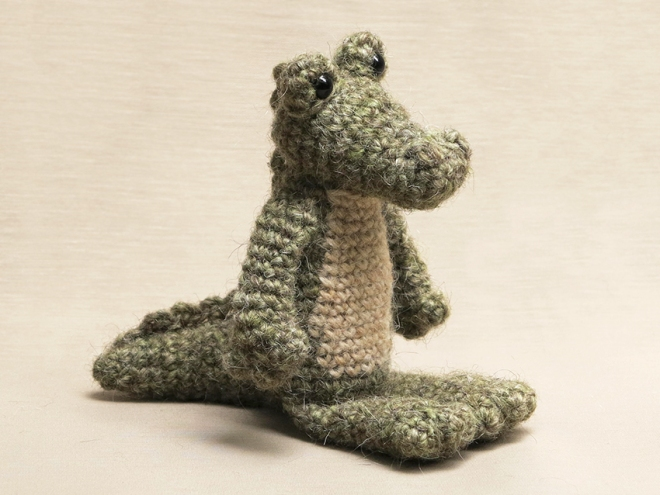 crocodile crochet pattern