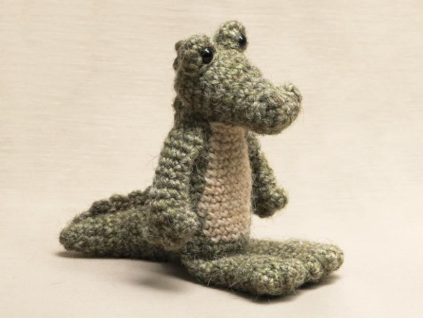 crocodile crochet pattern