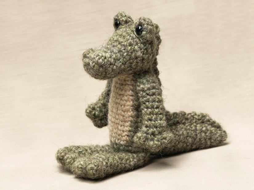 Amigurumi crocodile pattern
