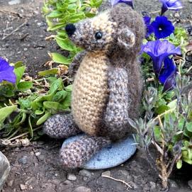Floral hedgehog
